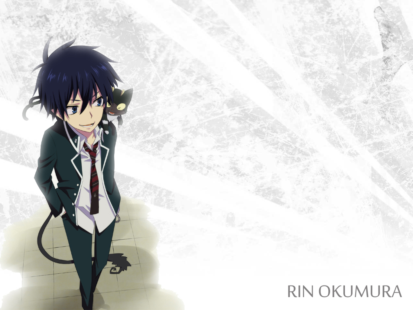 Rin Okumura Wallpaper And Background Image 1366x1025 Id 640587