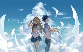 954 Your Lie In April Hd Wallpapers Background Images