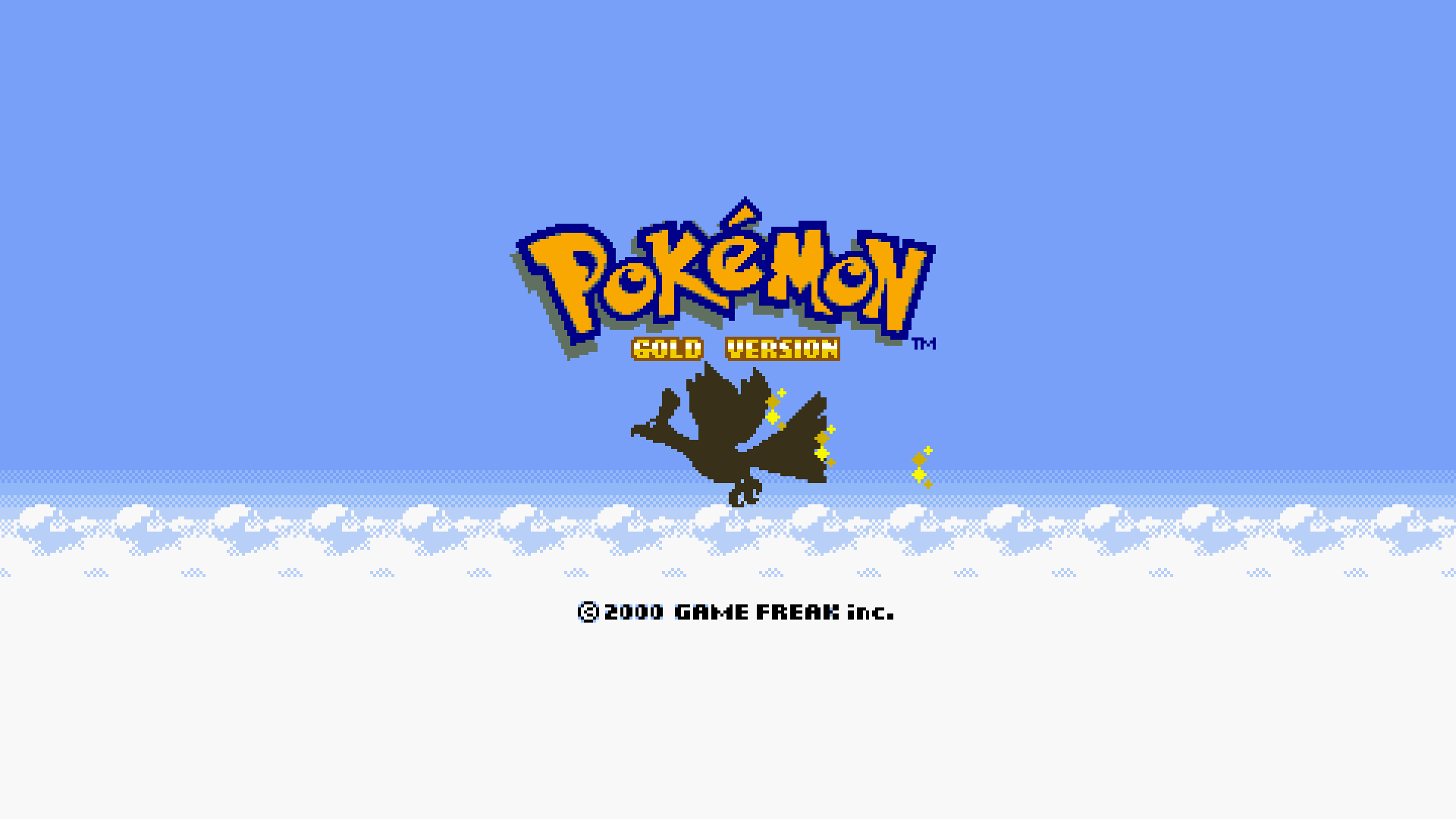 Pokemon Gold And Silver Hd Wallpaper Background Image