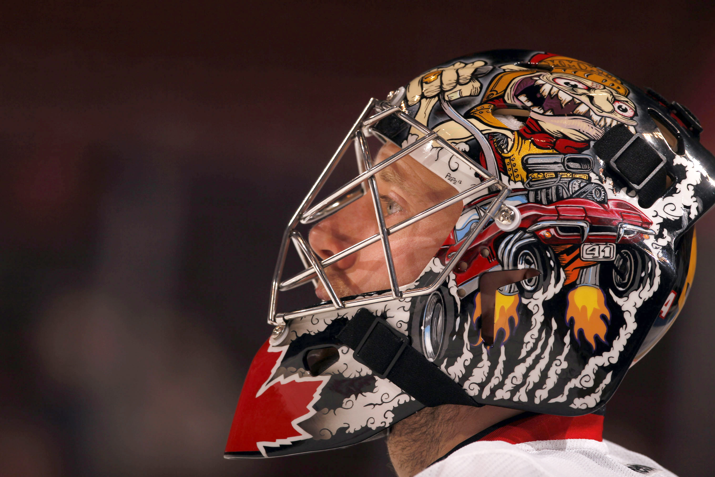 Ben Bishop Ottawa Senators Full HD Wallpaper And