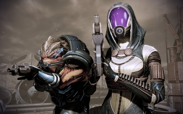 Video Game Mass Effect Grunt Tali'Zorah HD Wallpaper | Background Image