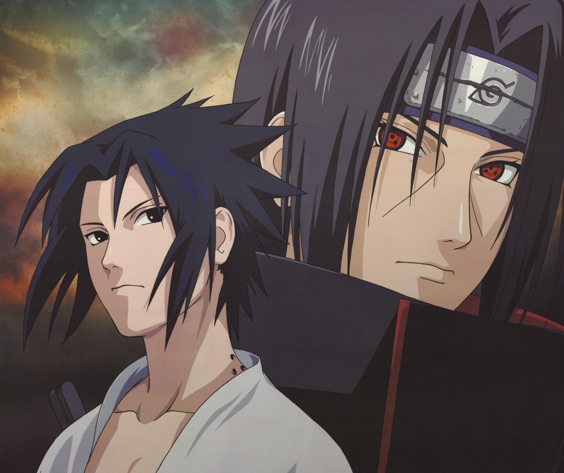 Sasuke and Itachi Uchiha Fond d'écran HD   Arrière-Plan   2147x1799   ID:644196 - Wallpaper Abyss