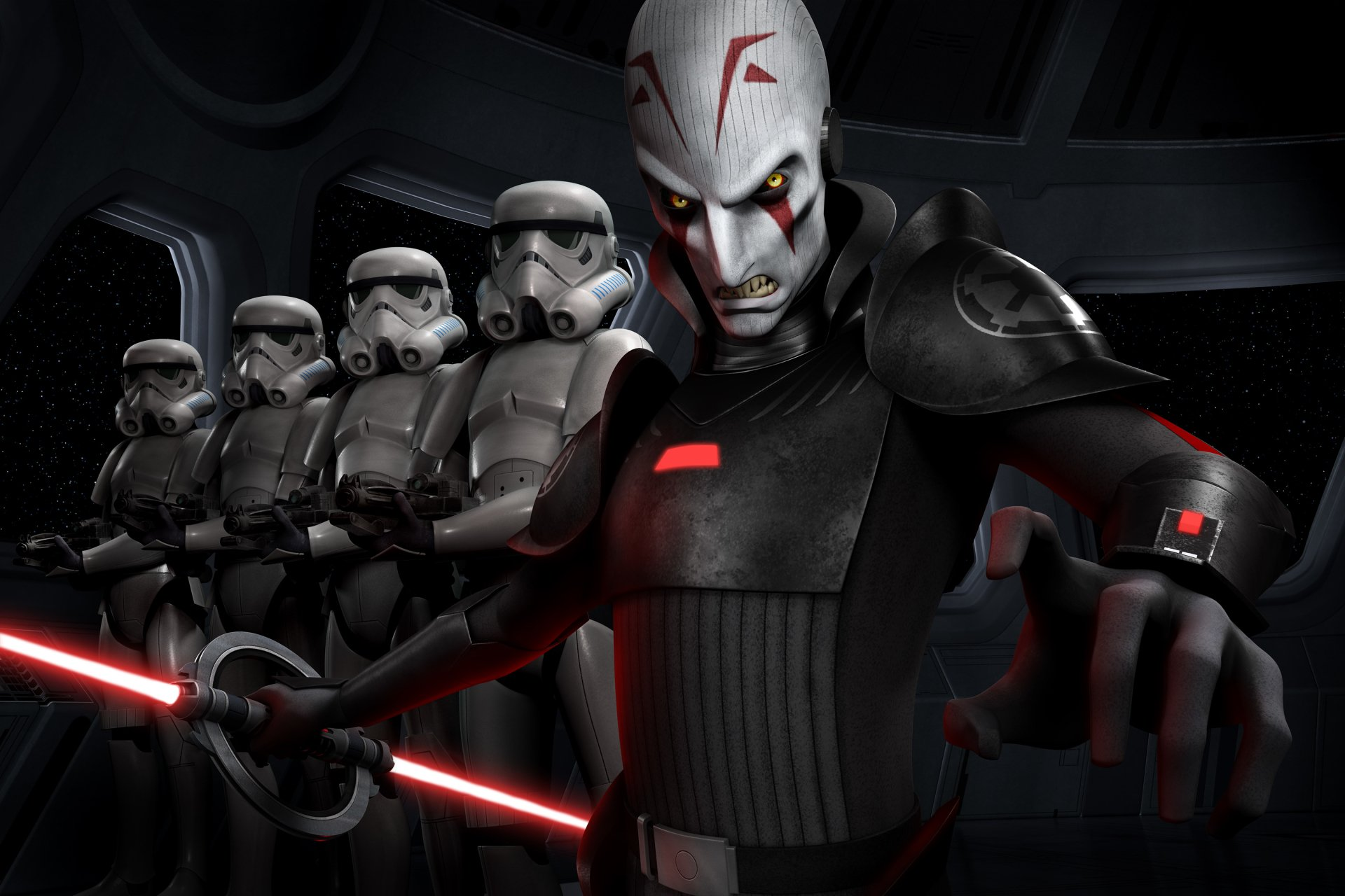TV Show - Star Wars Rebels  Stormtrooper The Inquisitor Wallpaper