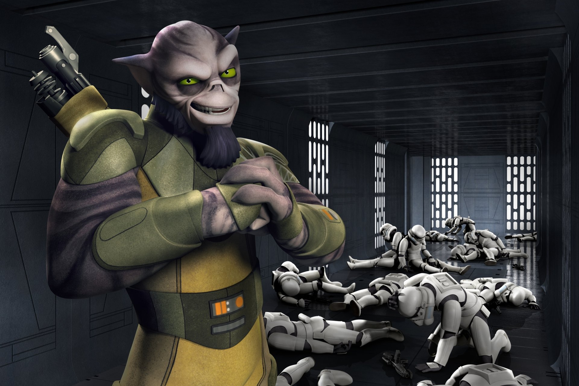 TV Show - Star Wars Rebels  Zeb Orrelios Stormtrooper Wallpaper