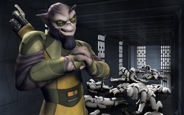 TV Show Star Wars Rebels Star Wars Zeb Orrelios Stormtrooper HD Wallpaper | Background Image