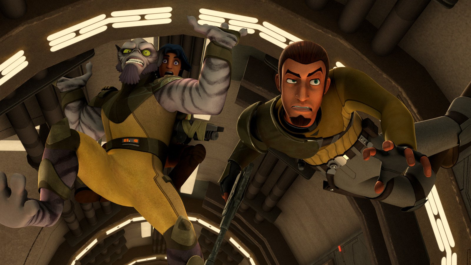 TV Show - Star Wars Rebels  Kanan Jarrus Zeb Orrelios Wallpaper
