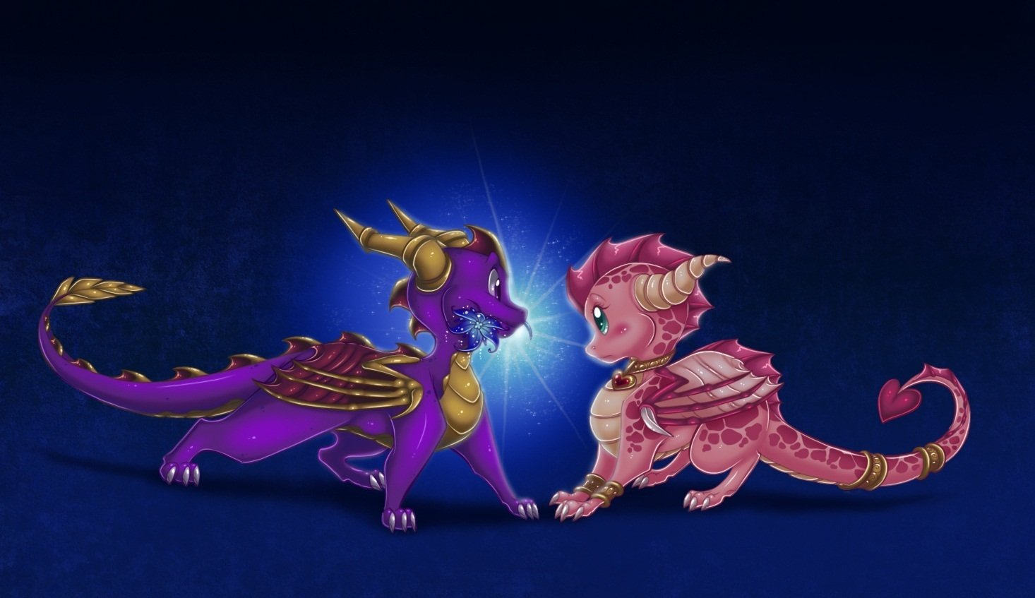 Spyro And Ember Wallpaper Background Image