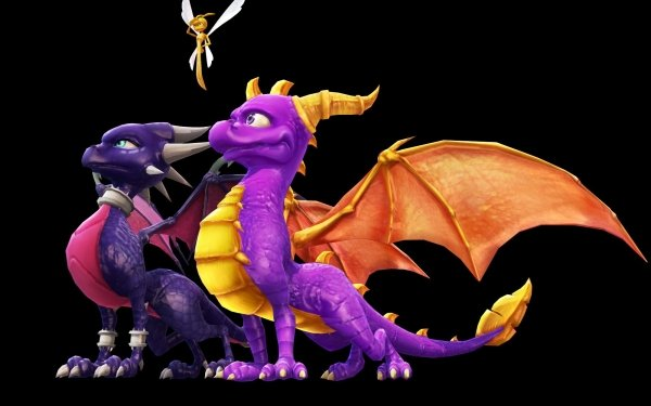 Video Game The Legend of Spyro: Dawn of the Dragon Spyro Sparx the Dragonfly Cynder Dragon HD Wallpaper | Background Image