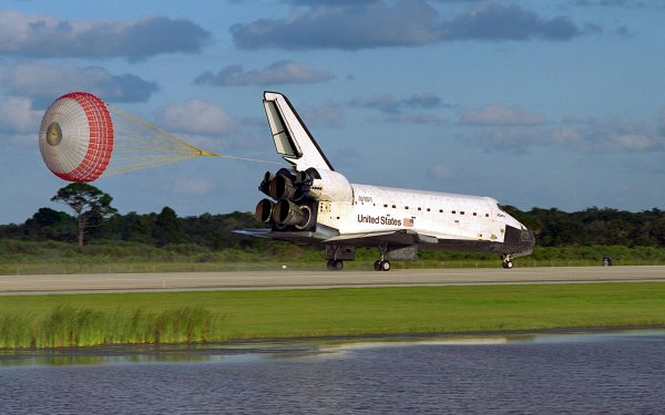 Vehicles Space Shuttle atlantis Space Shuttles NASA Aircraft Kennedy Space Center HD Wallpaper | Background Image