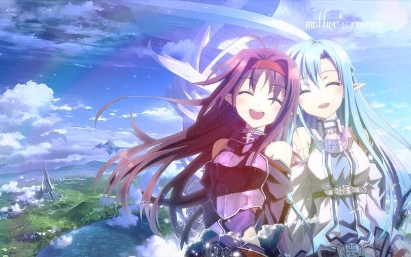 Anime Sword Art Online II Sword Art Online Asuna Yuuki Yuuki Konno HD Wallpaper | Background Image