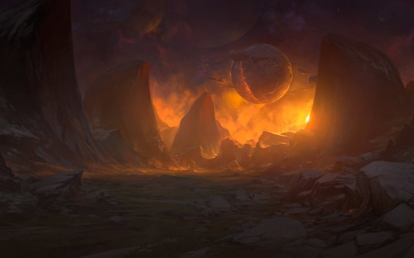 Sci Fi Landscape HD Wallpaper | Background Image