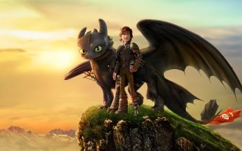 Hiccup How To Train Your Dragon 2 Movie Toothless HD Wallpaper