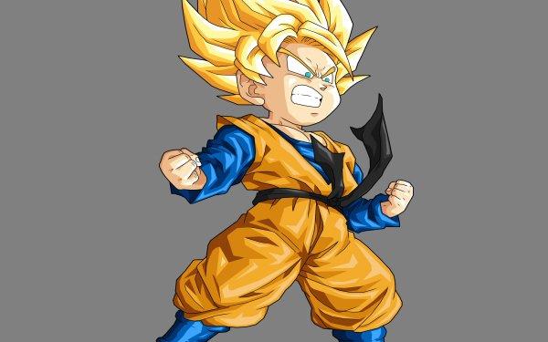 Anime Dragon Ball Z Dragon Ball Goten Super Saiyan HD Wallpaper | Background Image