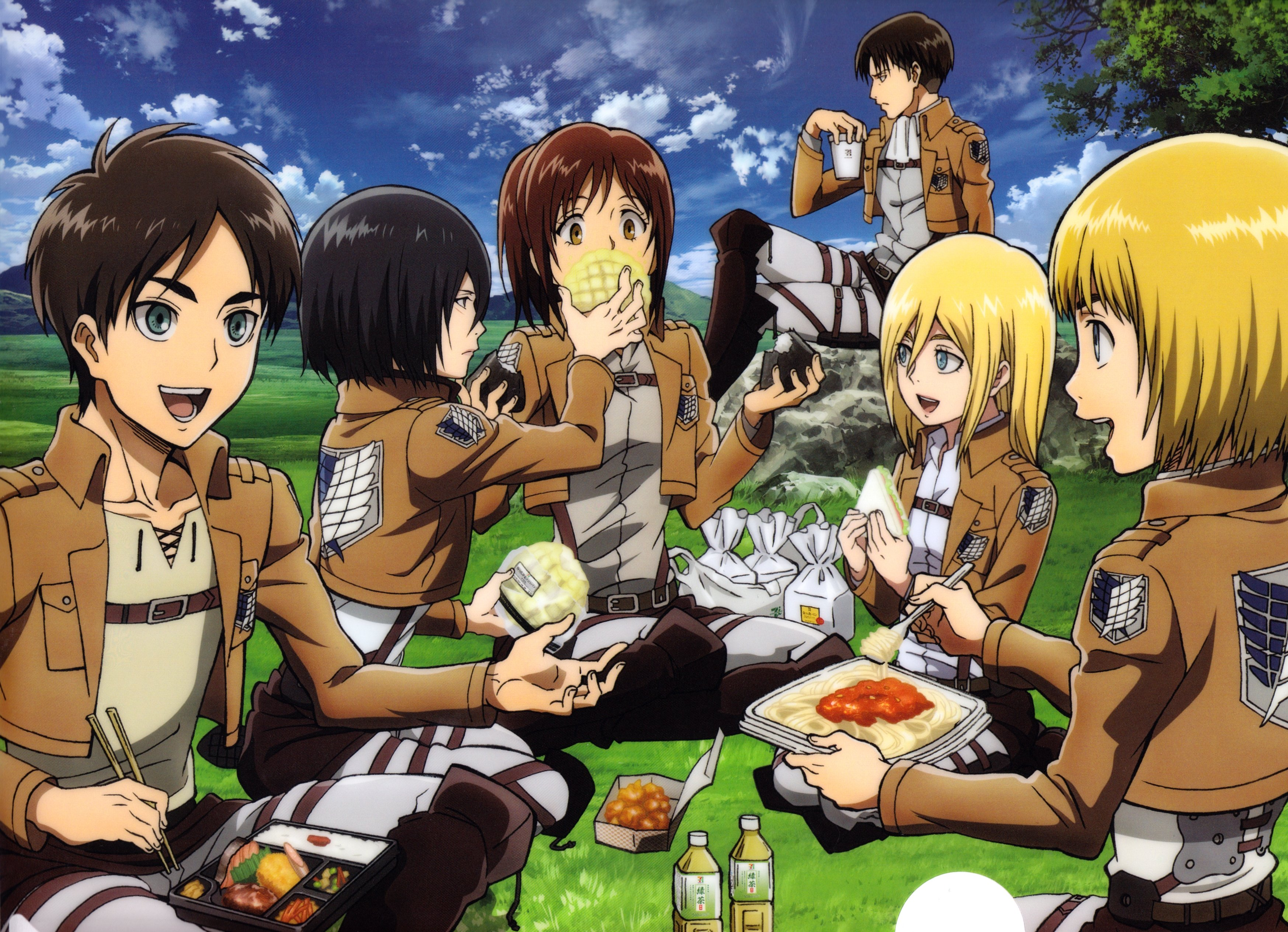 Attack On Titan Hd Wallpaper Background Image 3494x2529 Id 653486 Wallpaper Abyss