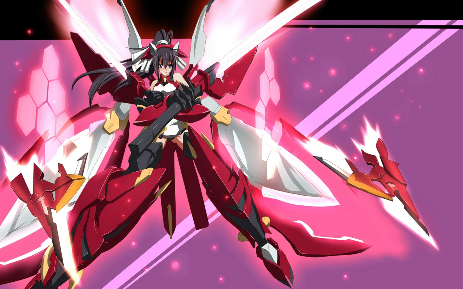 Infinite Stratos HD Wa...