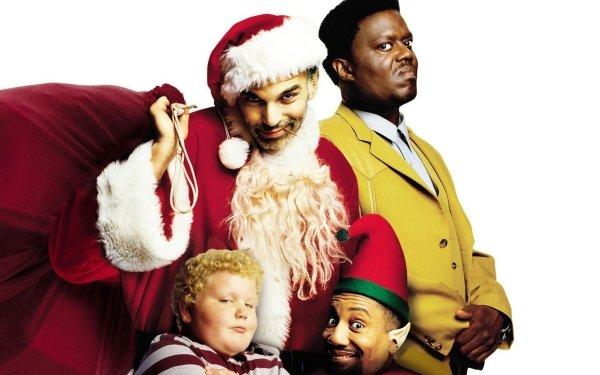 Movie Bad Santa Billy Bob Thornton Bernie Mac HD Wallpaper | Background Image
