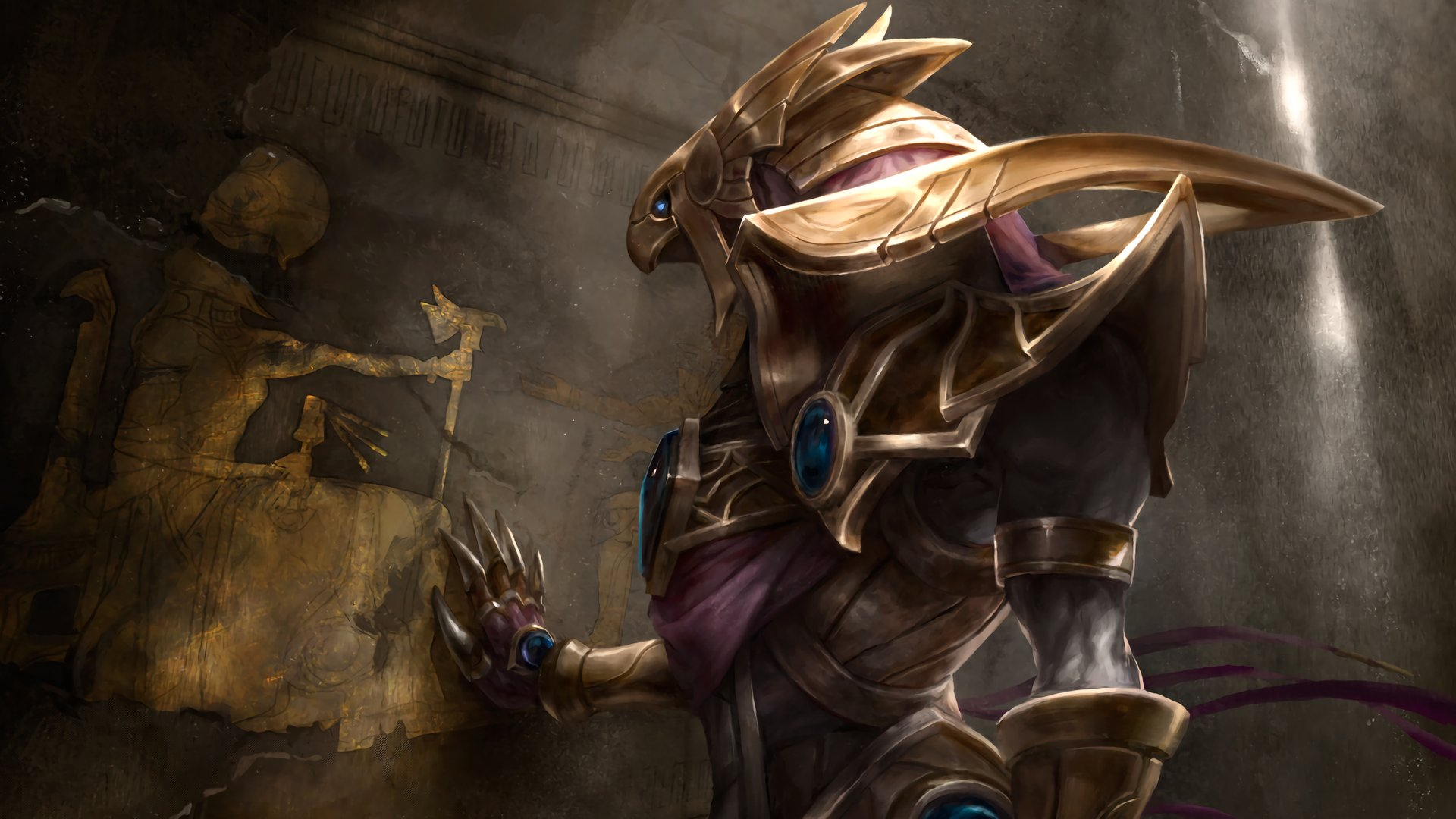 20 Azir League Of Legends Hd Wallpapers Background Images