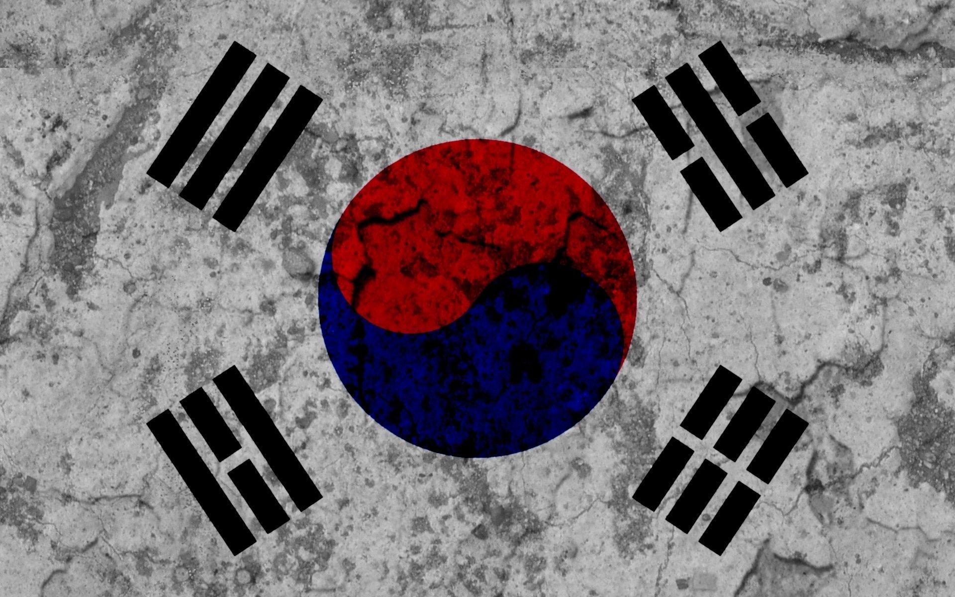 Flag Of South Korea Fond Décran Hd Arrière Plan 1920x1200 Id