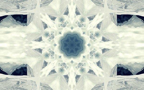 Abstract Artistic Mandala Digital Art HD Wallpaper | Background Image