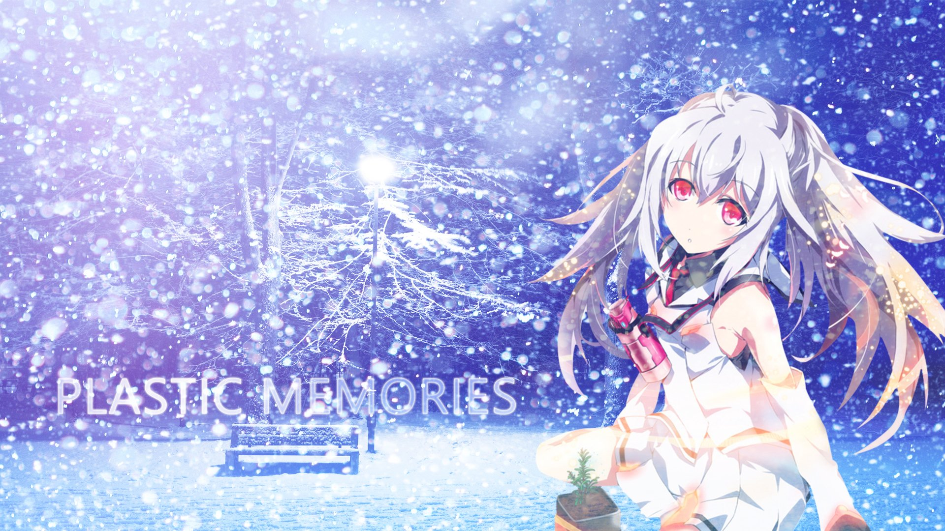 Plastic memories hd wallpaper background image - Anime backgrounds com ...