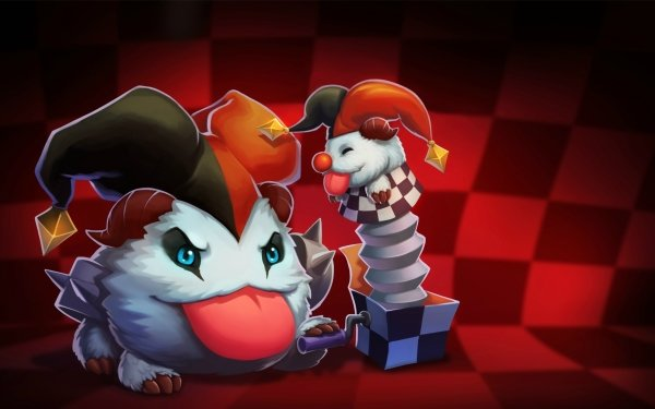 Video Game League Of Legends Shaco Poro HD Wallpaper | Background Image