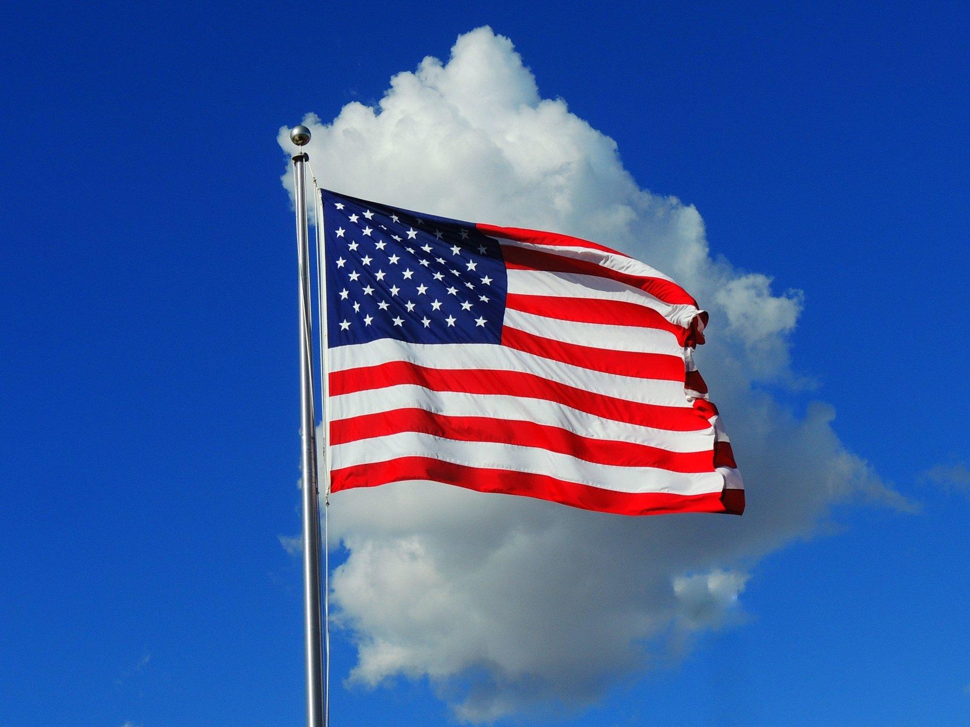 Bandera Americana 4k Ultra Fondo De Pantalla HD