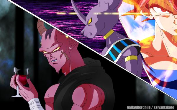 Anime Dragon Ball Super Dragon Ball Beerus Goku HD Wallpaper | Background Image