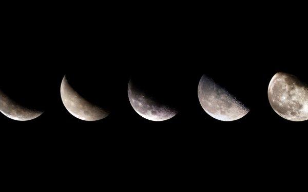 Earth Moon HD Wallpaper | Background Image
