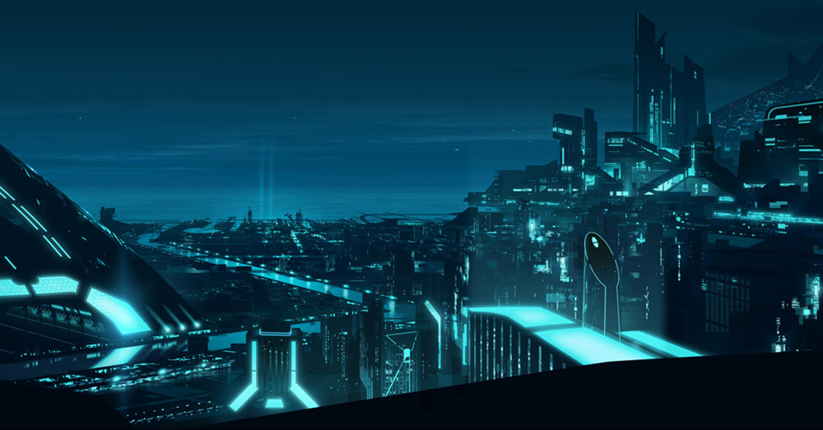 Tron Uprising Full HD Wallpaper And Background Image