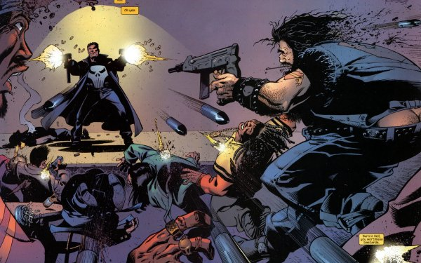 Comics Punisher Frank Castle HD Wallpaper   Background Image
