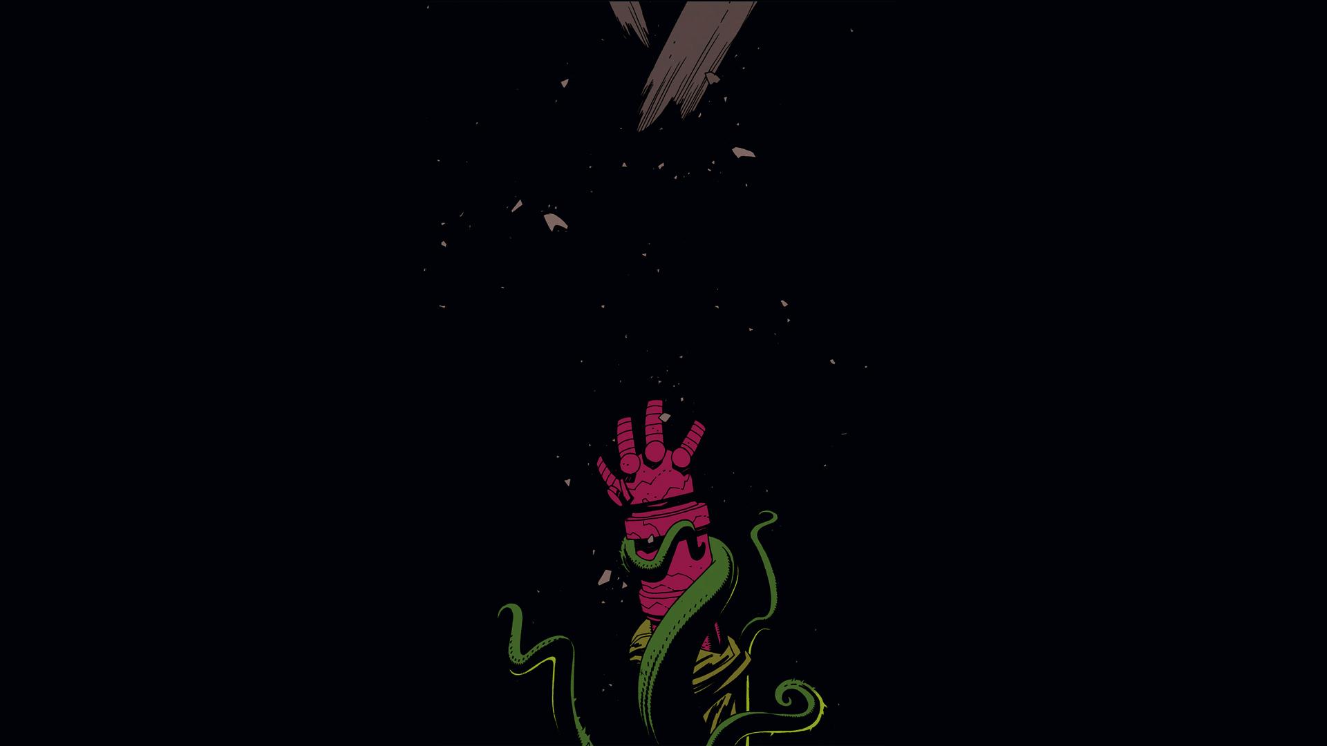 comics hellboy wallpaper