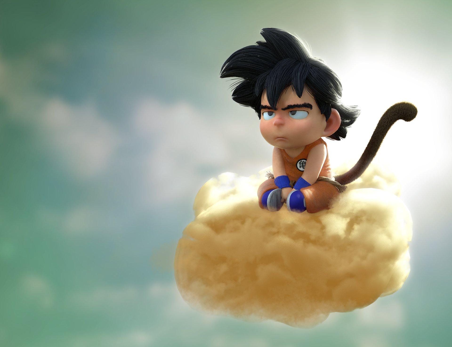 Sad Goku Fondos De Pantalla Escritorio