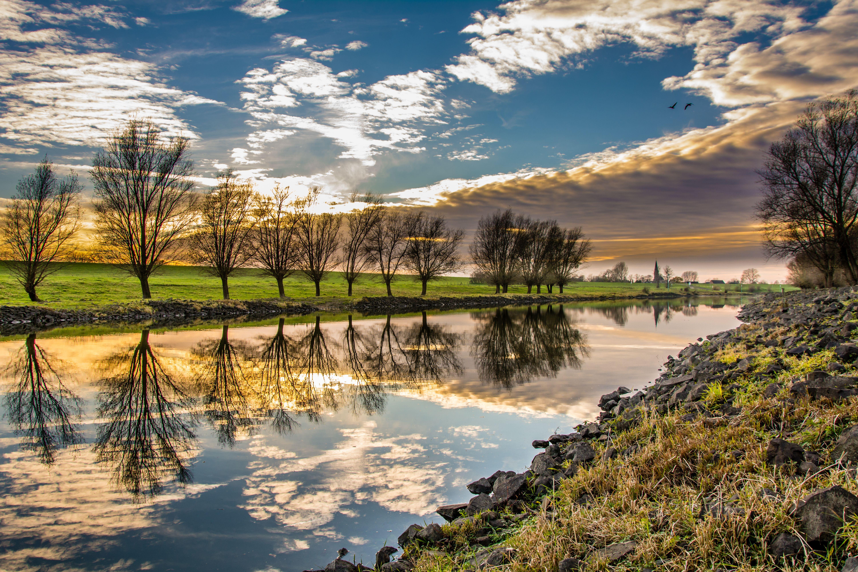 River 5k Retina Ultra HD Wallpaper