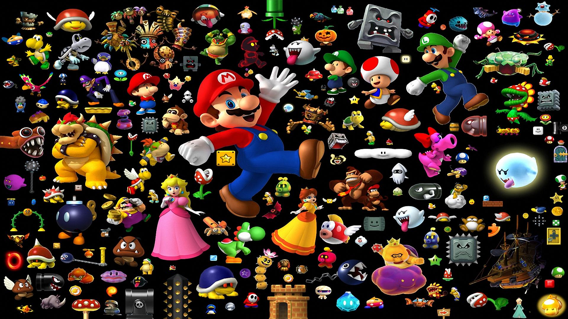 Super Mario All Stars Super Mario World Full Hd Fond D