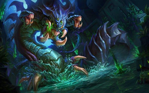 Videojuego League Of Legends Baron Nashor Fondo de pantalla HD | Fondo de Escritorio
