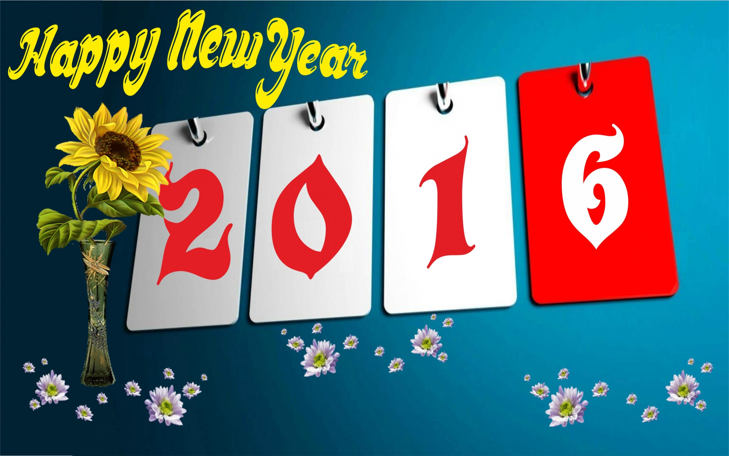 New Year 2016 Hd Wallpaper Background Image 2880x1800 Id
