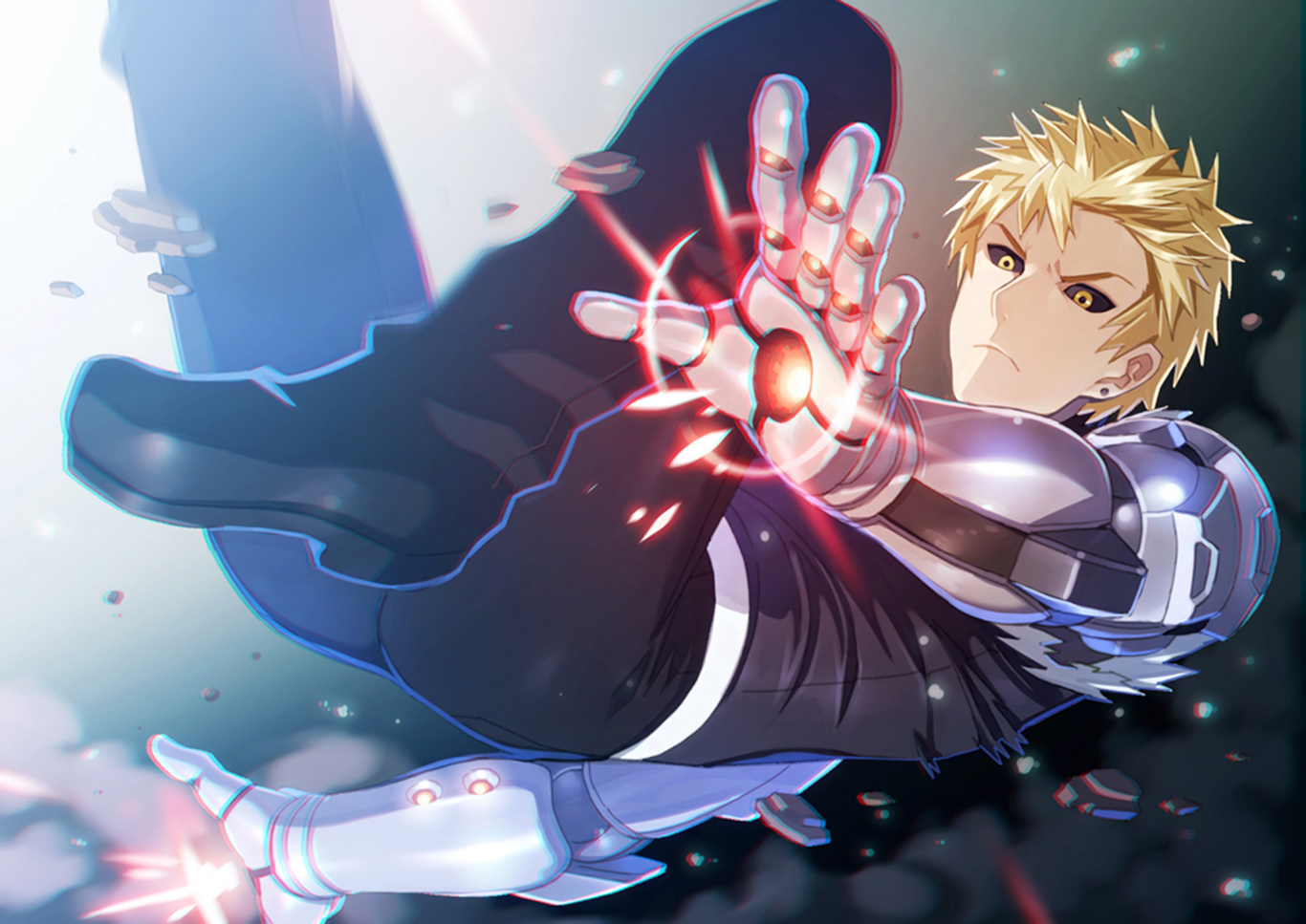 genos wallpaper and background 1366x967 id670113