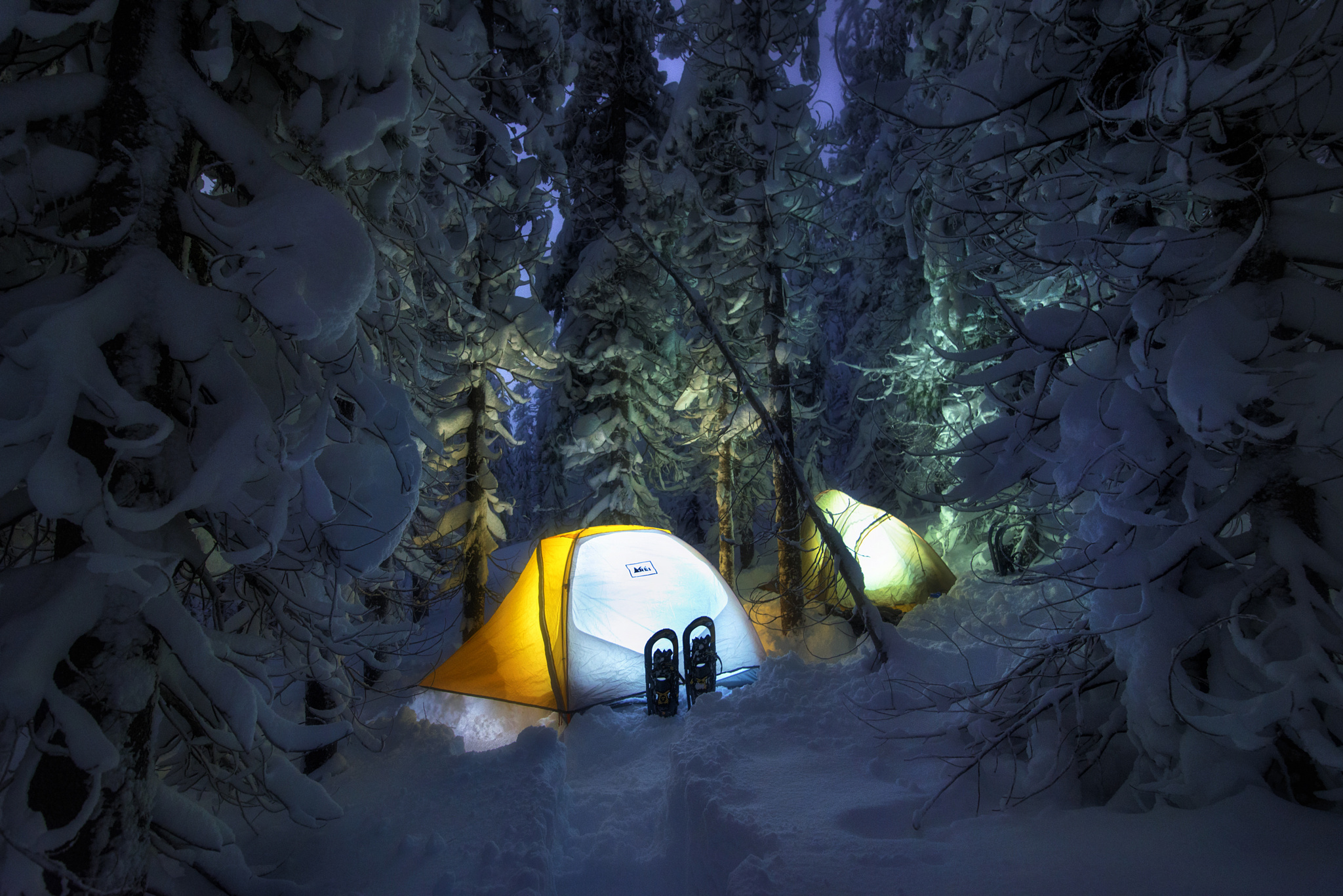 Camping Full HD Wallpaper and Background Image | 2048x1367 ... Camping Forest Wallpaper