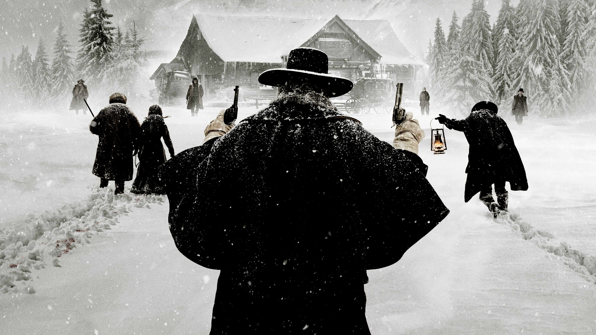 47 The Hateful Eight HD Wallpapers