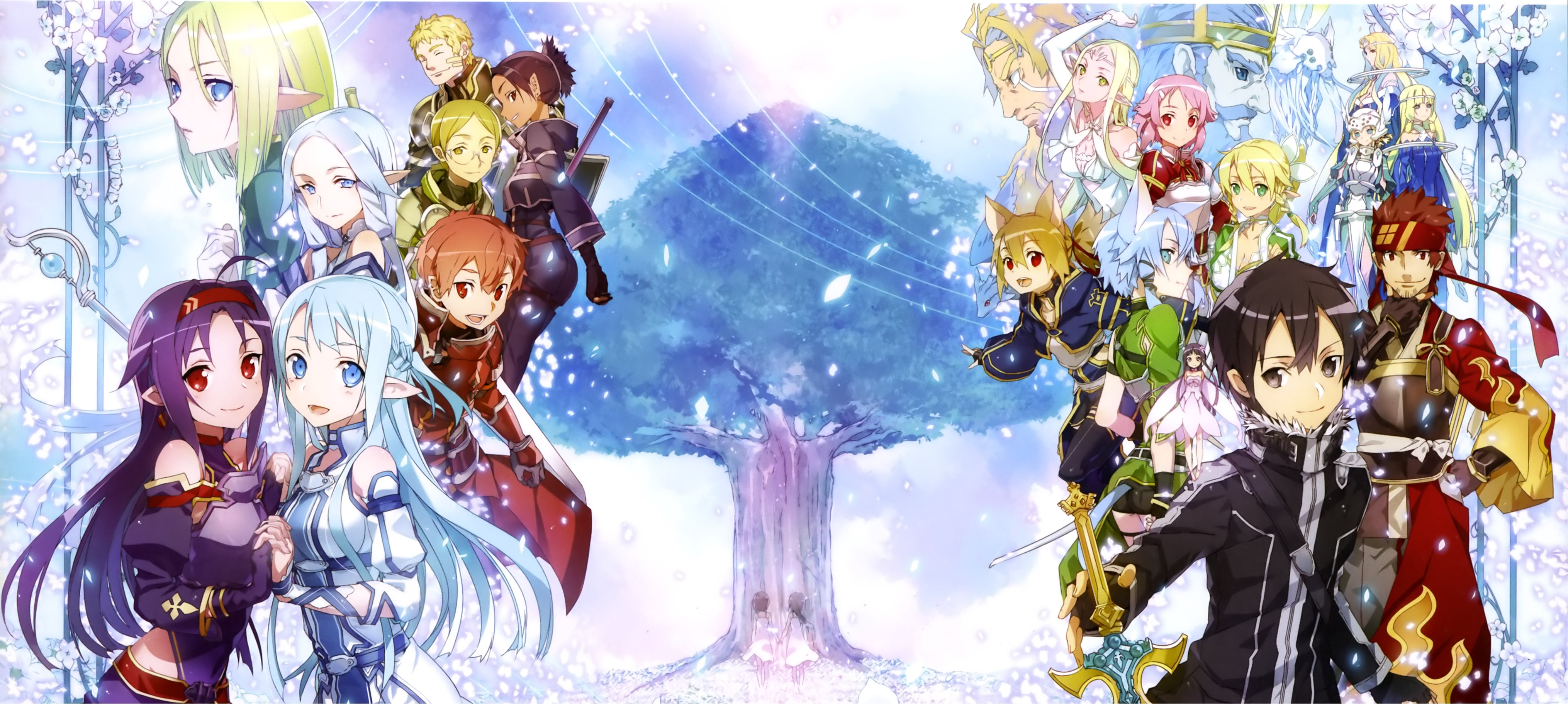 Sword Art line II Full HD Wallpaper and Background