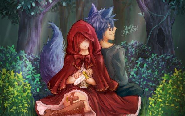Anime Fairy Tail Erza Scarlet Jellal Fernandes Fond d'écran HD   Image