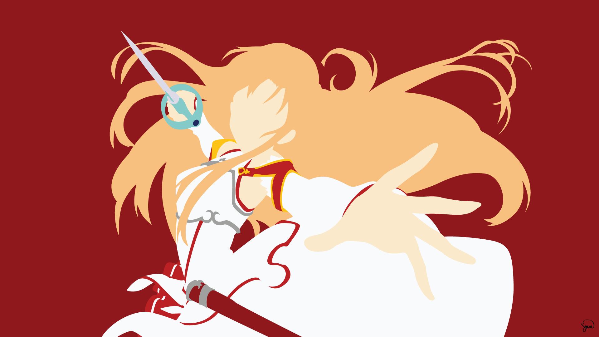 Asuna yuuki full hd fondo de pantalla and fondo de for Minimal art online