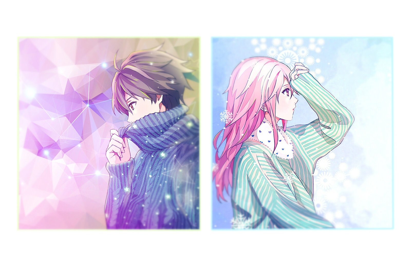 95+ Wallpaper Couple Untuk 2 Hp Anime HD Terbaru