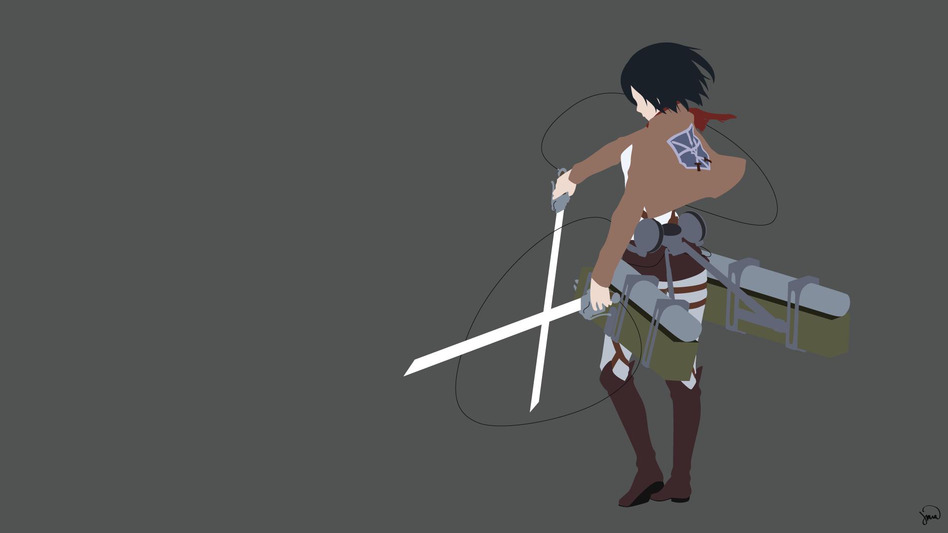 Mikasa Ackerman HD Wallpaper   Background Image ...