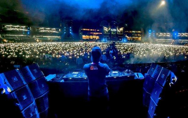 Music Hardwell DJ Concert HD Wallpaper | Background Image