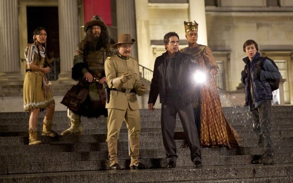 Movie Night at the Museum: Secret of the Tomb Ben Stiller Robin Williams HD Wallpaper | Background Image