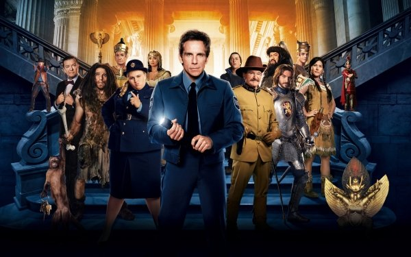 Movie Night at the Museum: Secret of the Tomb Ben Stiller Robin Williams Rebel Wilson Dan Stevens HD Wallpaper | Background Image