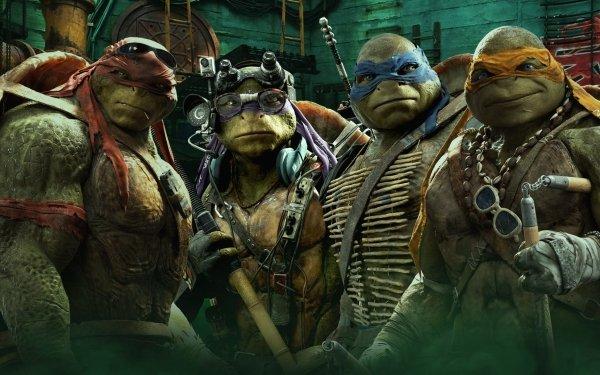 Movie Teenage Mutant Ninja Turtles (2014) Teenage Mutant Ninja Turtles Michelangelo Raphael Leonardo Donatello HD Wallpaper | Background Image