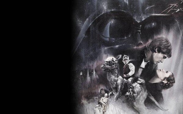 Movie Star Wars Episode V: The Empire Strikes Back Star Wars Darth Vader Princess Leia Han Solo Tauntaun HD Wallpaper | Background Image