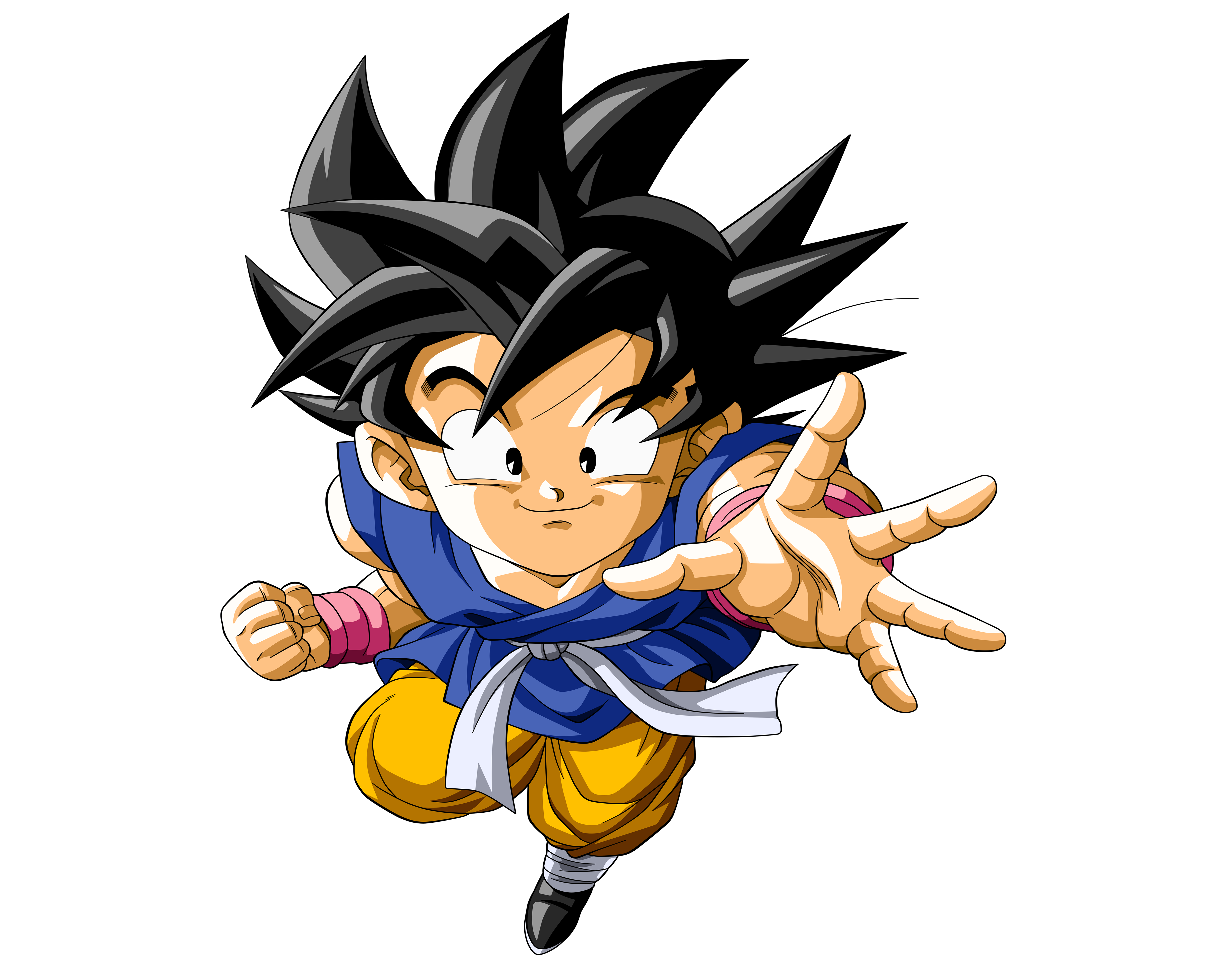 Kid Goku 4k Ultra Hd Wallpaper Background Image 5000x4000 Id
